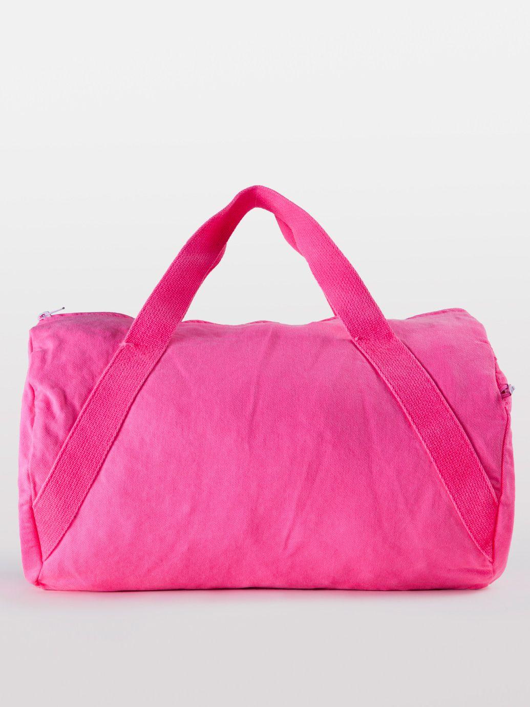 24225a0410ab Natural Denim Diagonal Strap Gym Bag | Duffle Bags | Accessories ...