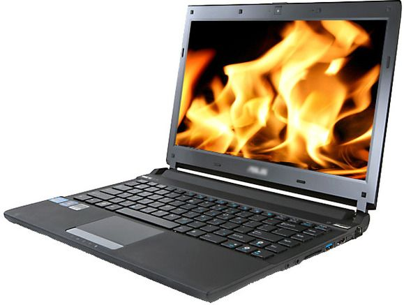 Laptop clicks on its own