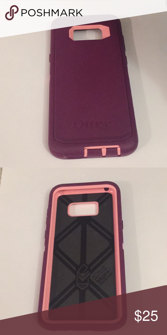 online store 61605 95978 Purple OtterBox Defender Case for Galaxy S8 Plus Compatible with ...