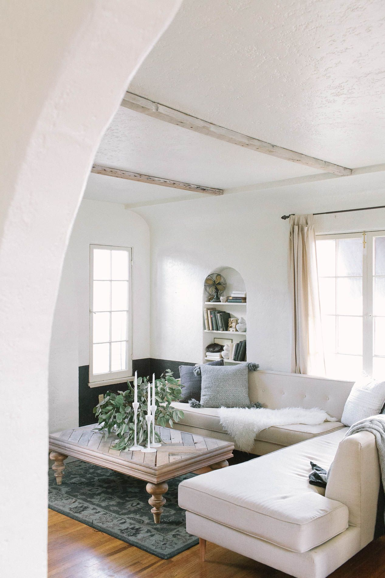 Loving This Cottage In California Featured On Rue. Itu0027s Actually Rented  Accommodation Updated Inexpensively   Lots And Lots Of Paint And Clever  Sourcing.