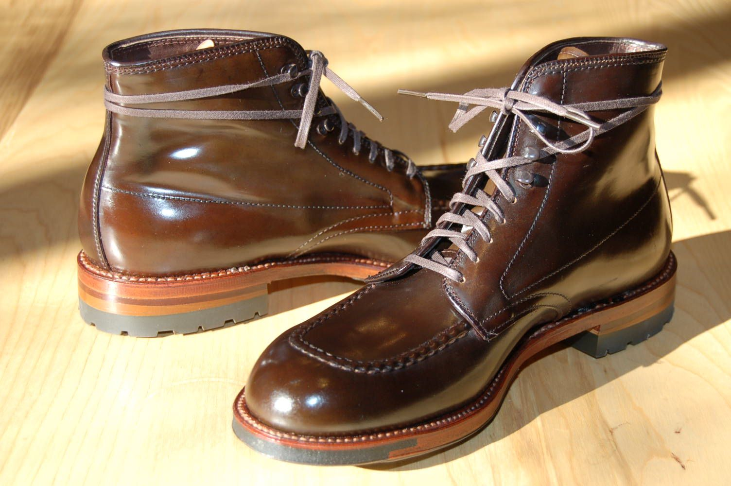 143a3cdf96f Alden Indy boot in cigar shell cordovan. (These are phresh!) | Hot ...