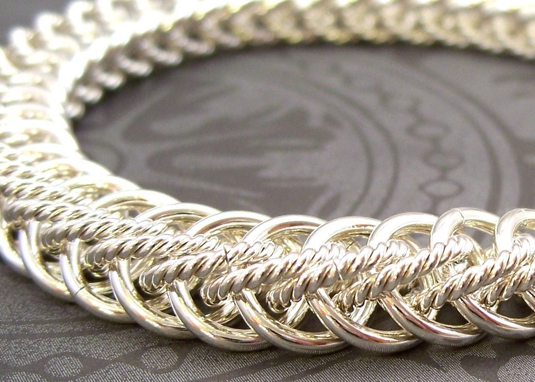 Ringe Basteln Free Chainmail Patterns Chain Maille Chainmaille Gallery