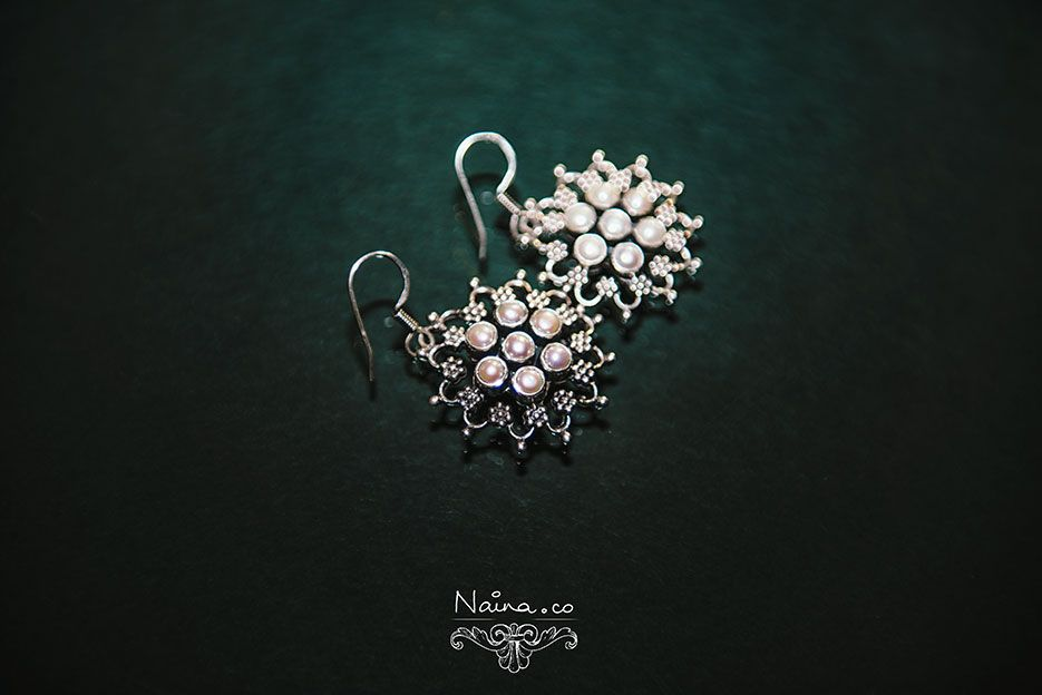 Jewelry / Jewellery, Favorite Earrings in silver and pearls ...