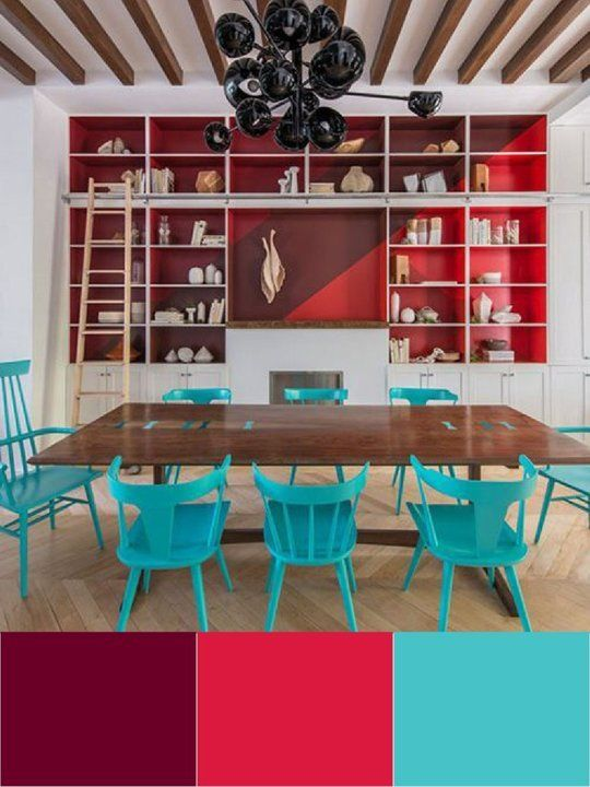 be bold: unusual color combinations that work — apartment
