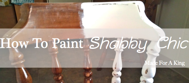 how to paint shabby chic an easy step by step guide