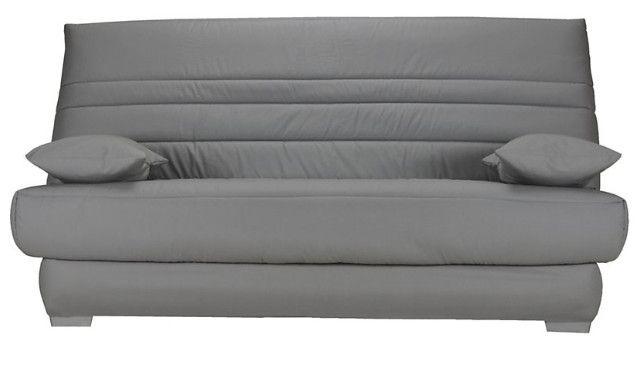 Clic Clac Tissu 130x190 Cm Avec Coffre Matelas Sofaconfort 14 Cm Zea Matelas Coffre De Rangement Et Tissu