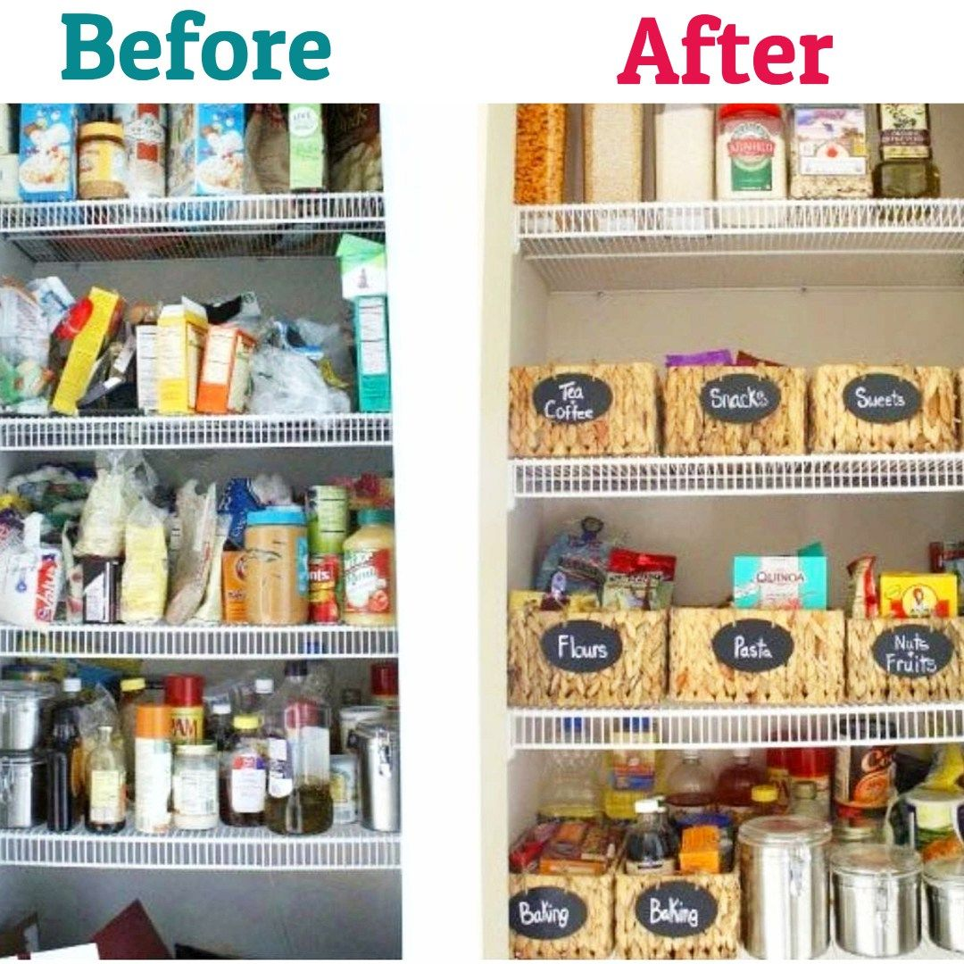 declutter your pantry organize your pantry in 3 simple steps kitchen organization on kitchen organization diy id=80408