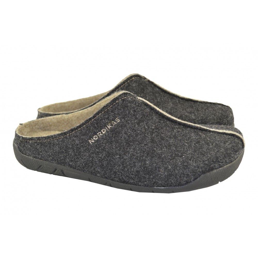 Zapatillas de andar por casa de tipo anatomico fabricadas con materiales de tejido fieltro - Zapatillas andar por casa originales ...