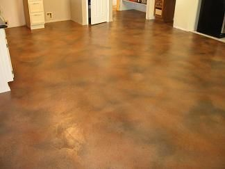 Indoor Concrete Paint Decorative Coatings Resurfacing Training