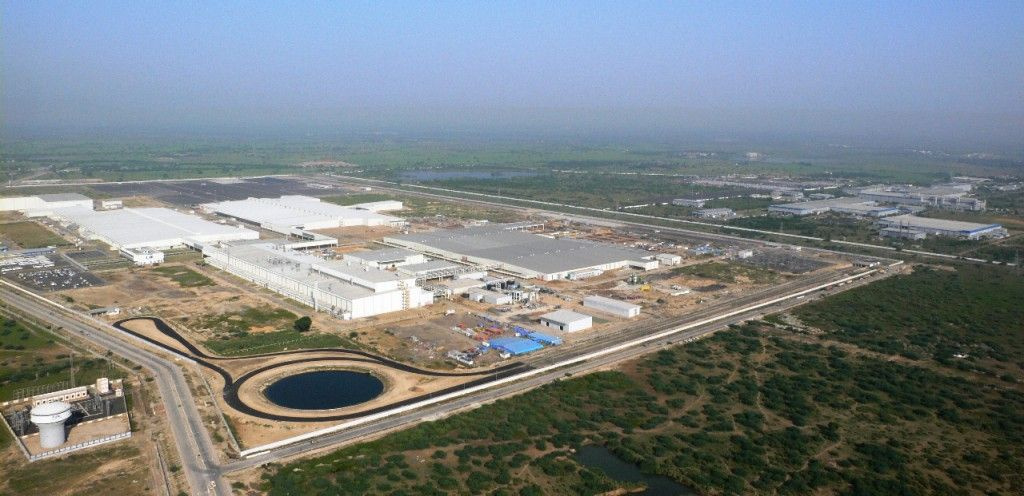 SANAND, GUJARAT, India, 26 March, 2015 Ford Motor Company nowadays inaugurated its integrated producing facility together with a progressive vehicle producing facility and a foremost engine plant in Sanand, Gujarat.