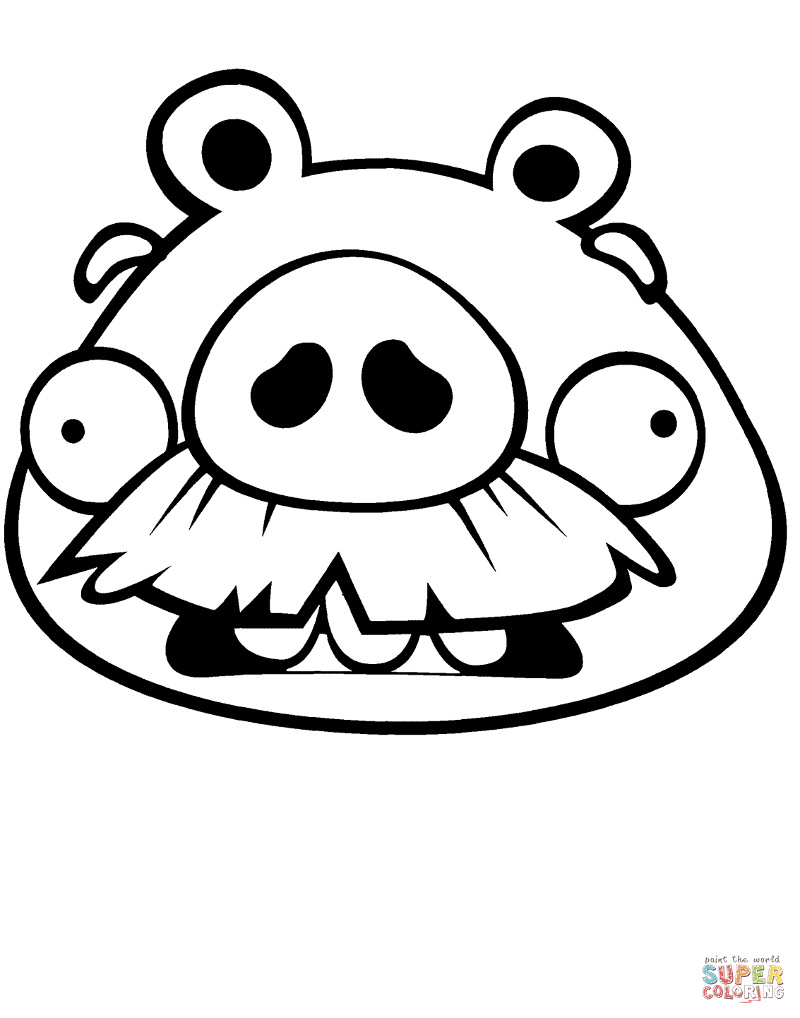 Image result for angry birds pigs coloring pages | Carnival | Pinterest