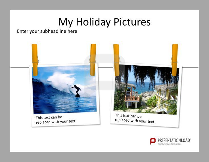 What is a holiday without a proper presentation of your memories - free album templates