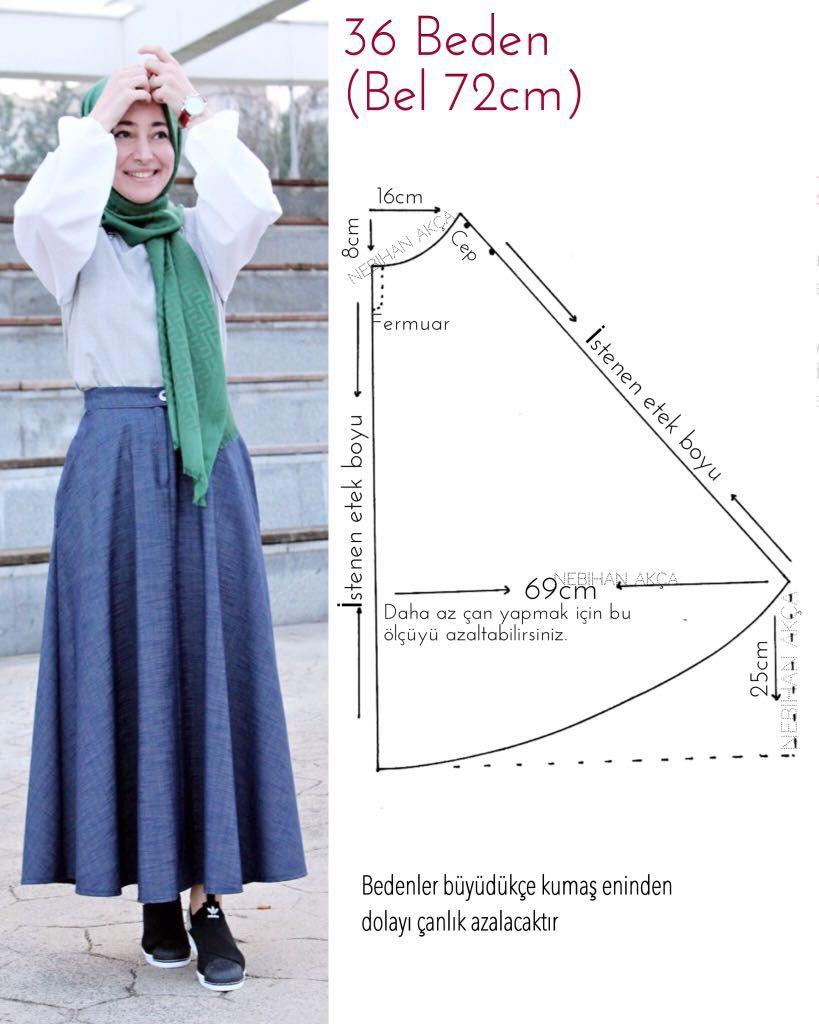 Moda dikiş giyim aksesuar tasarım tesettür diy kombin hijab fashion ...