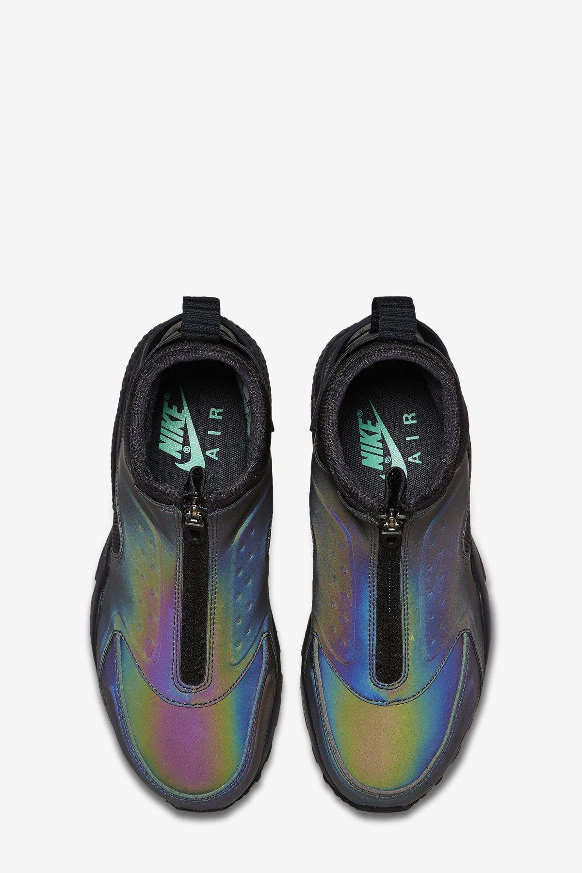 separation shoes 381fc adfff Nike Air Womens Air Huarache Run Mid Prm Sneaker Boots