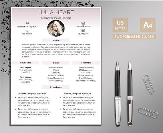 Creative resume template \