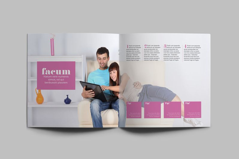 InDesign Magazine Template: Kalonice | Editorial Design | Pinterest ...