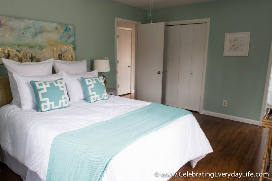 Home Staging Before + After Home staging ideas How to stage a bedroom decorate a bedroom for sale celebrating everyday life with jennifer carroll & Tips for How to Stage a Bedroom to sell! | For the Home | Pinterest ...