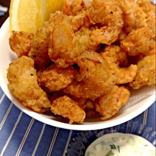 シュリンプを揚げてタルタルソースで(^^)美味しーい! - 140件のもぐもぐ - ケイジャン・シュリンプ・ポップコーンCajun Shrimp Popcorn. by yoriko