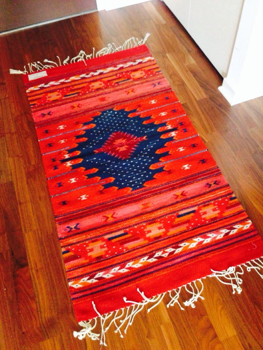 Beautiful Handmade Rug With Natural