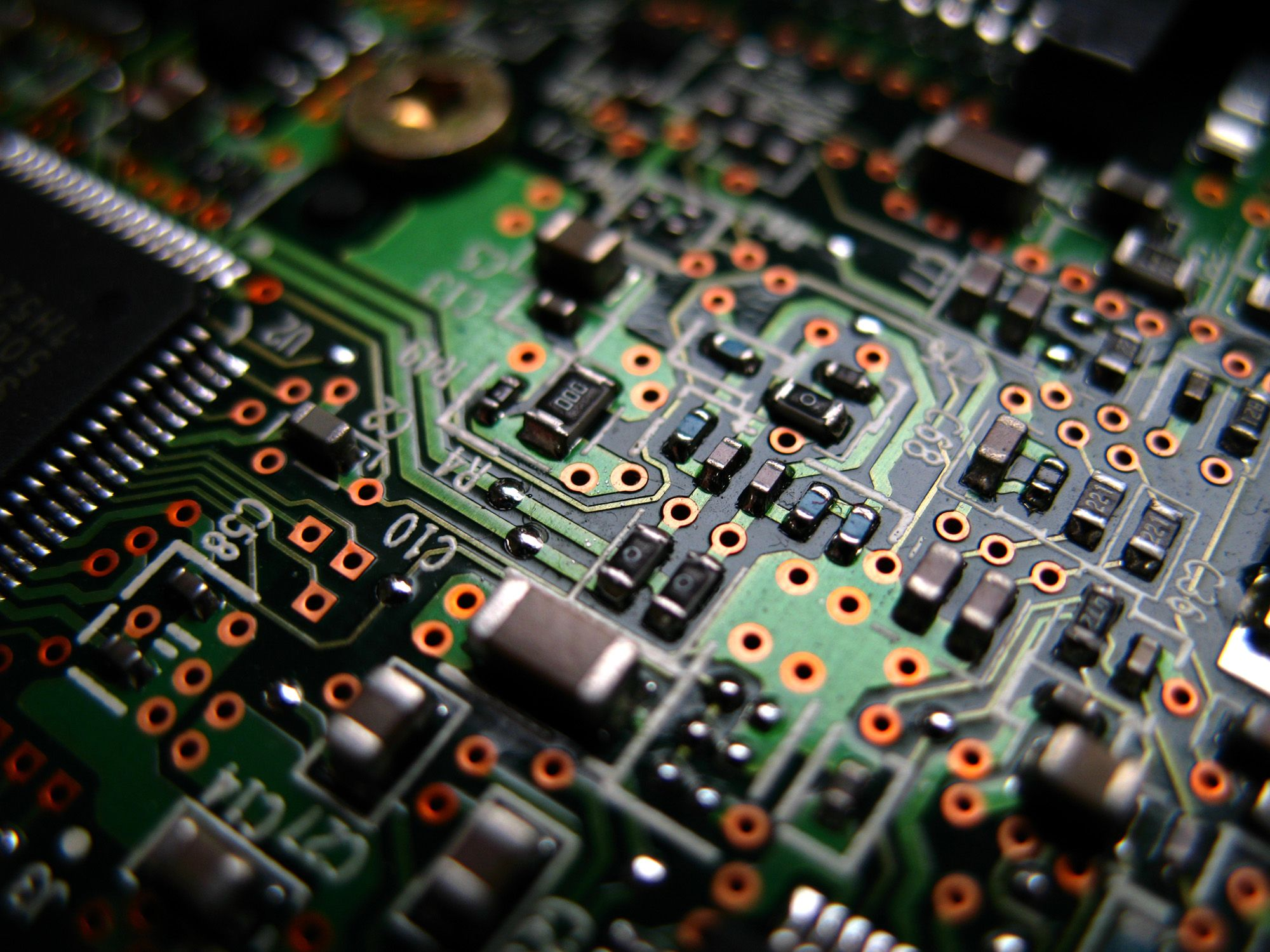 Electronic Circuit Wallpaper Circuit Boards Pinterest