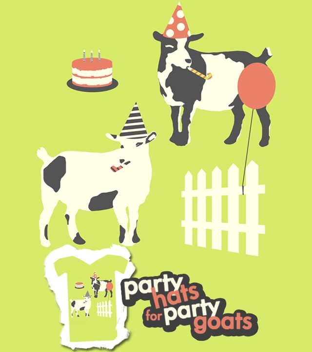 These goats know how to party
