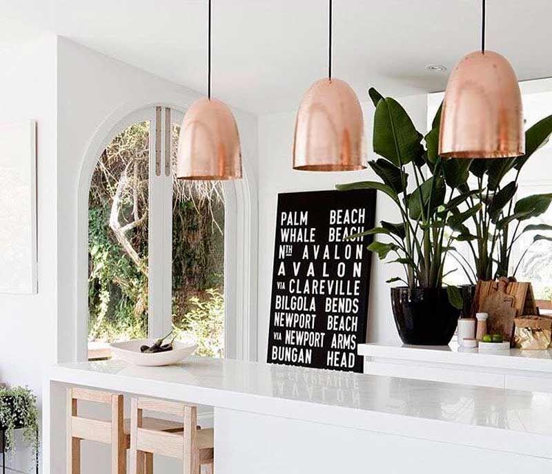 COLGANTE TOM COBRE MEDIUM - Desli | Design Your Life | cocinas ...