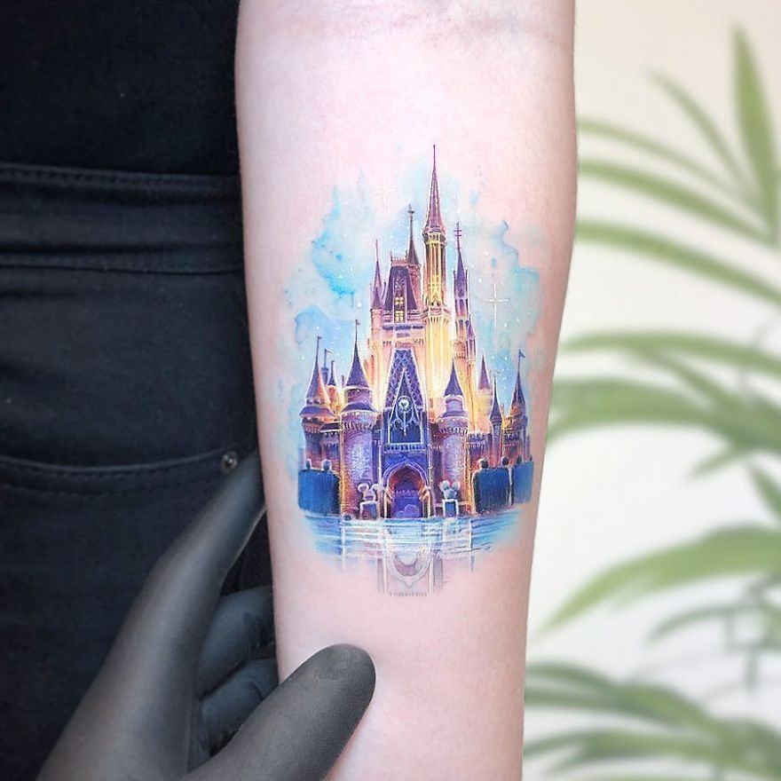 Photo of Mini-Colored-Pop-Culture-Tattoo-Kozo