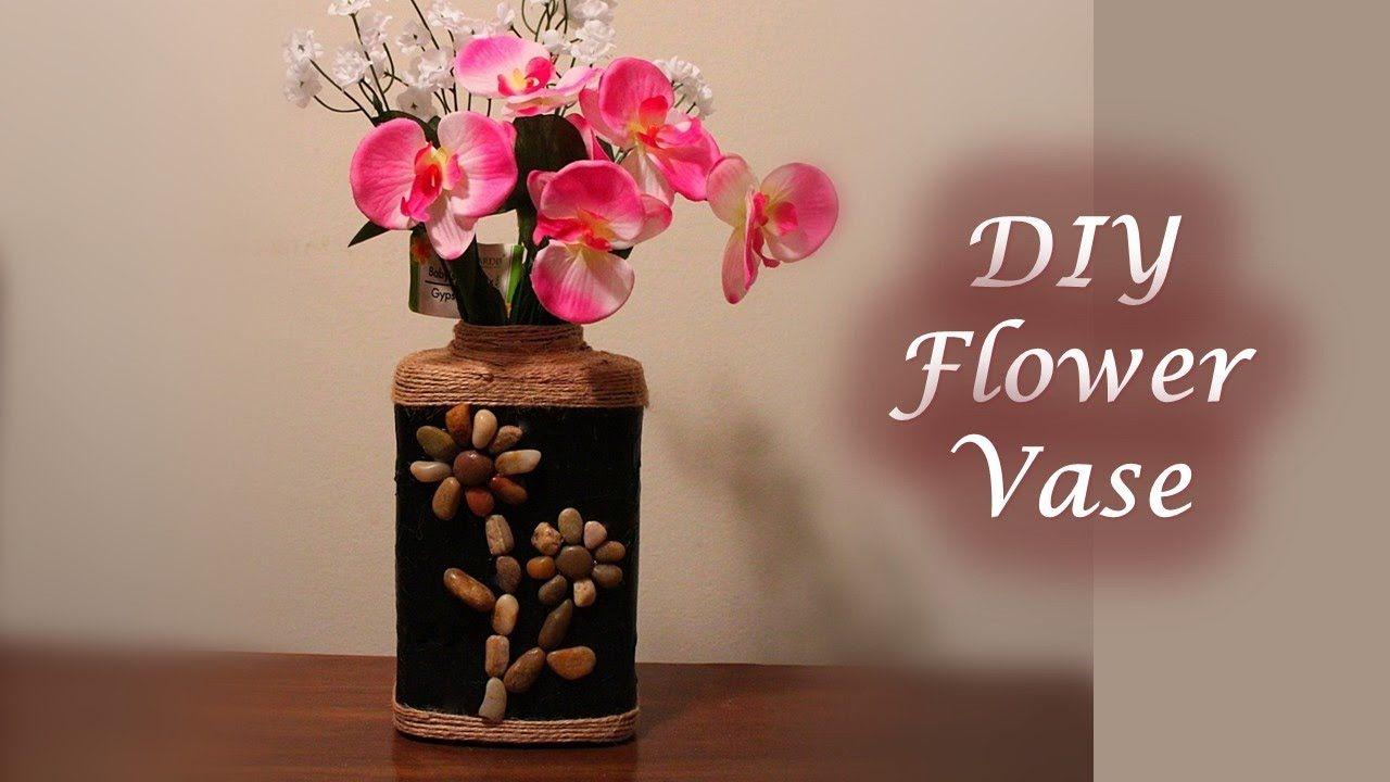 DIY Flower Vase - Best out of waste   DIY & Crafts   Pinterest   Diy on pinterest diy flower boxes, gold spray paint a glass vase, easy diy flower vase, diy gold vase, pinterest diy flower art, pinterest diy flower wreath, pinterest diy flower decor, pinterest diy flower frame,
