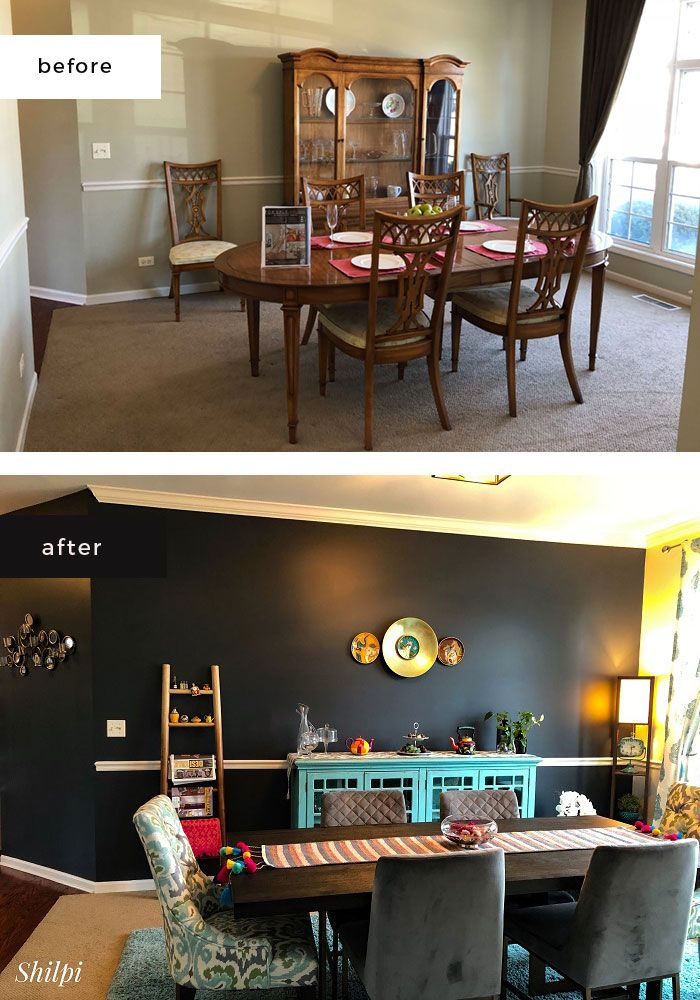 The Chaturvedis Transform Their Chicago Home from Drab to Fab - dress your  home - best