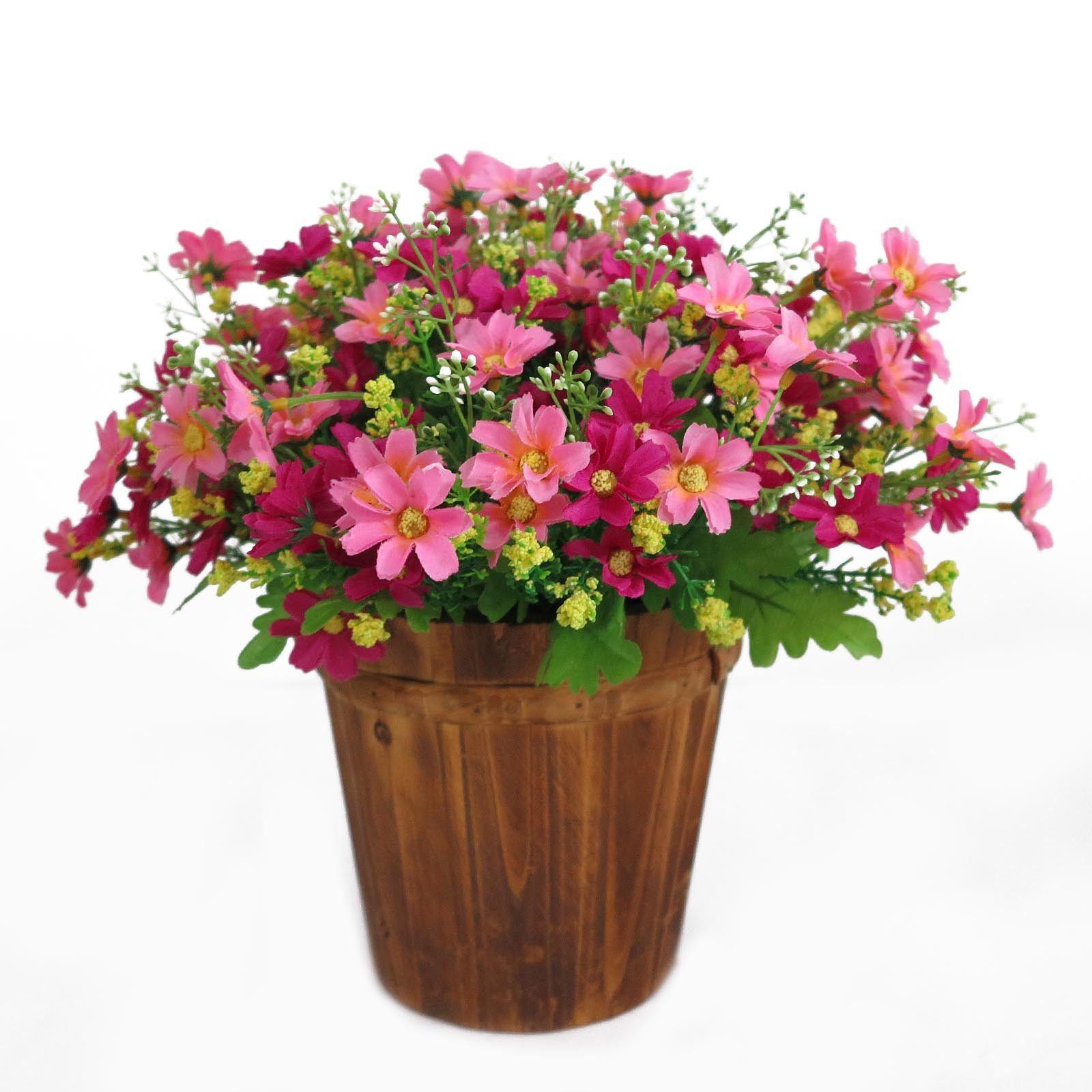 Artificial chrysanthemum daisy silk flower garden wedding