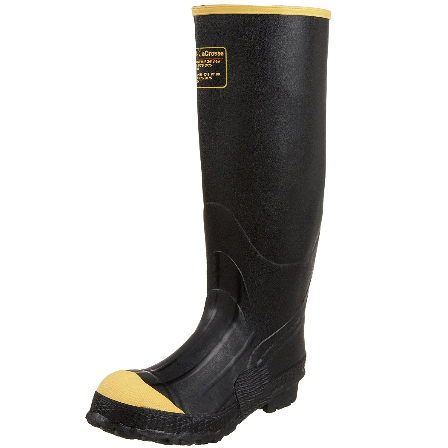 lacrosse knee high boots