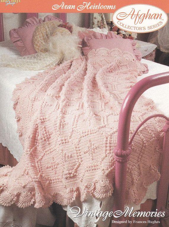 Aran Afghan Crochet Pattern Vintage Memories | Crochet For Me ...