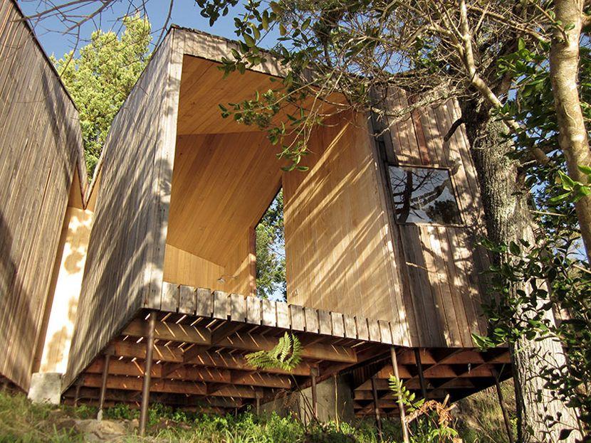 image © nicolás valdés44 / Sauna en Ranco - Chile