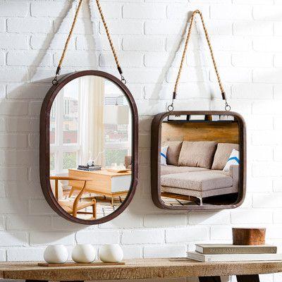 Chevelle Full Length Mirror Rope Mirror Porthole Mirror