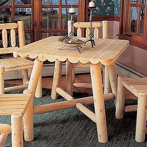 Rustic Natural Cedar Furniture Company® Cedar Log Square Dining Table RUSTIC NATURAL CEDAR, http://www.amazon.com/dp/B0000A4ND3/ref=cm_sw_r_pi_dp_kZUPpb0PHF2A2