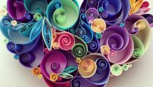Photo of Paper flowers are a cheap and fun way to bring some color and whi
