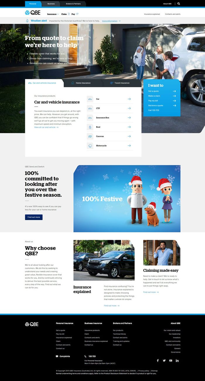 26 Excellent Insurance Websites Inspiration Insurance