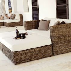 Attractive If You Want Aesthetic Appeal And Durability In Your Wicker Furniture Then  Gloster® Wicker Outdoor Patio Furniture Is What You Need From Patio Land  USA.