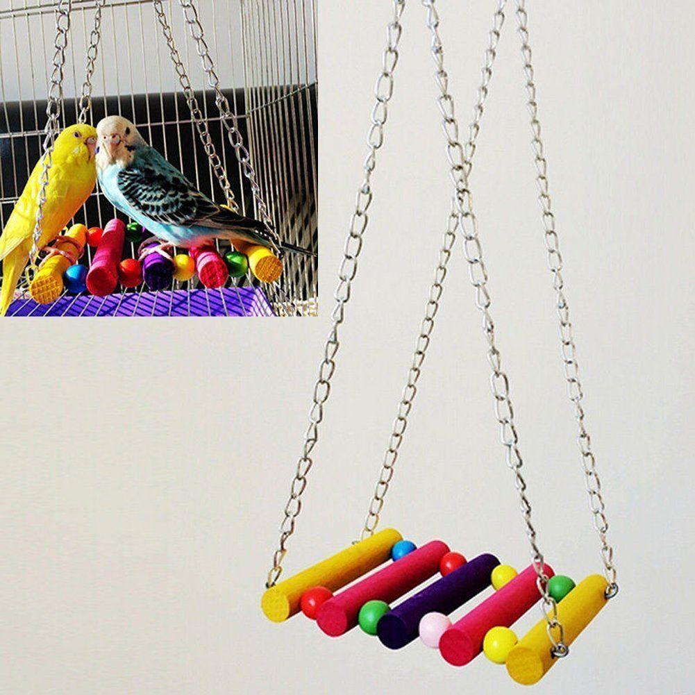 Vktech pcs pet bird parrot parakeet budgie cockatiel cage hammock