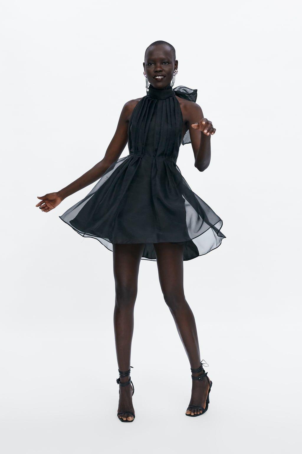 6459bda473bd Image 1 of MINI ORGANZA DRESS from Zara   Steez Bitin' in 2019 ...