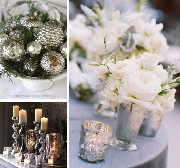 Divine Wedding Flowers: Light, And White, With A Hint Of Silver.