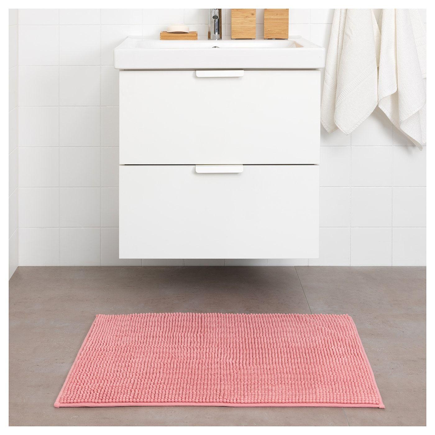 Ikea Toftbo Bath Mat Pink Products In 2019 Bath Mat Ikea Bath