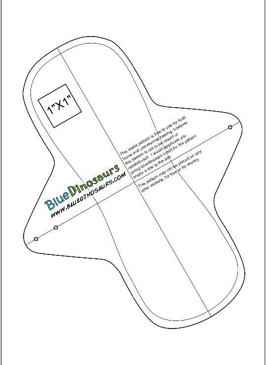 Toalla sanitaria de tela pattern … | Bricolaje y manualidades | Pinte…