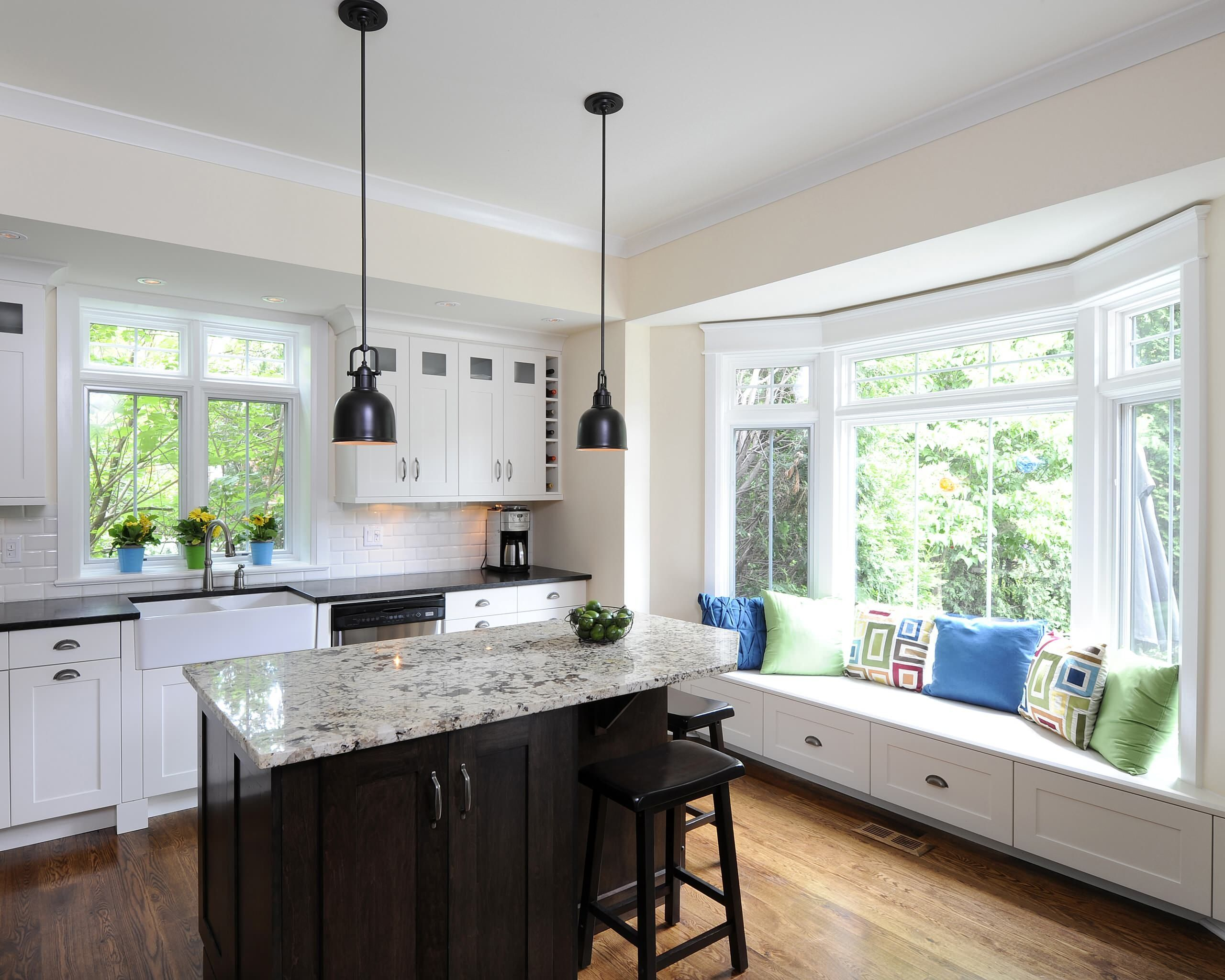 Window Seat Kitchen Island