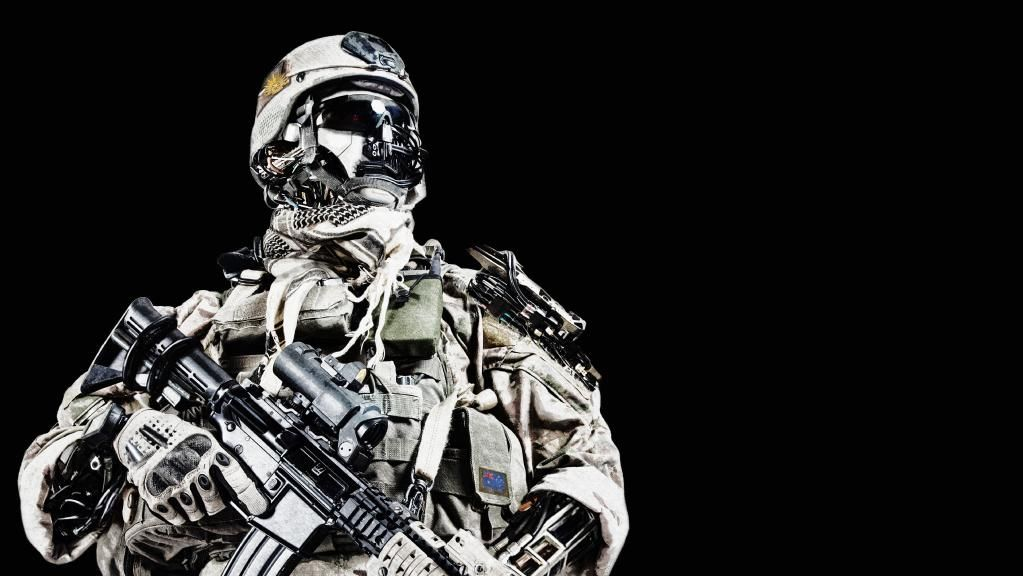 Our future soldiers will rely heavily on new technology.