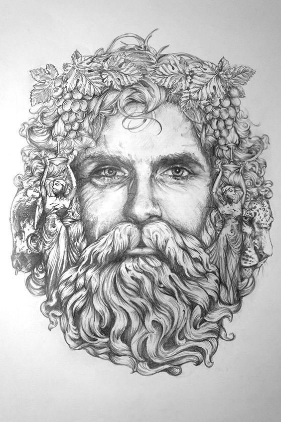 Bacchus' - Composition Sketch V1 by Greg Coulton   Arte ...