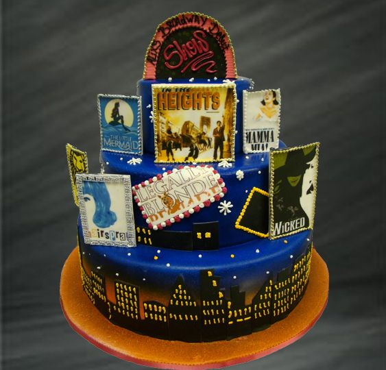 Broadway Musical Cakes - Google Search