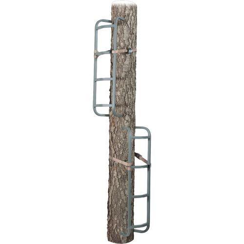 3 Piece Steel Rapid Rail Tree Climbing Sticks Hunting Tree Stand Steps Portable