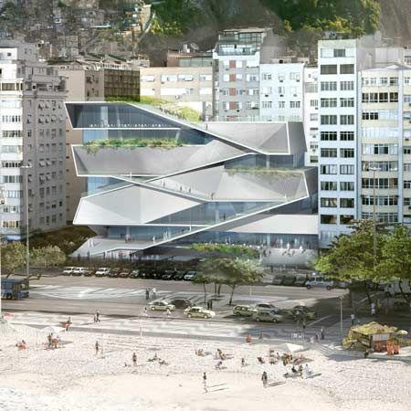 Arquitectos de Nueva York Diller Scofidio + Renfro han ganado un concurso para diseñar el Museo de Imagen y Sonido en Río de Janeiro, Brasil.