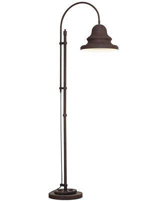 Pacific Coast Livingston Industrial Gear Floor Lamp